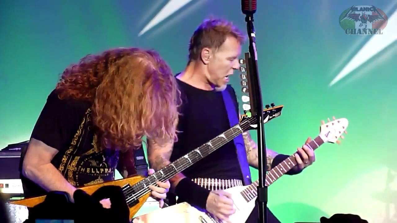 Dave Mustaine Metallica Reunion Metallica Dave Mustaine