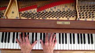 "The Greatest Jazz Ballad: ""LUSH LIFE"", Piano solo, w/ tutorial to follow."