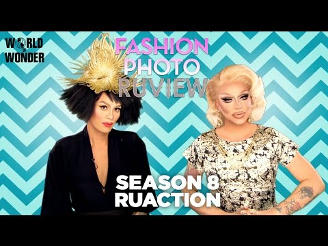 Season 8 RuAction: Raja & Raven RuView the RuPaul's Drag Race S8 First Look