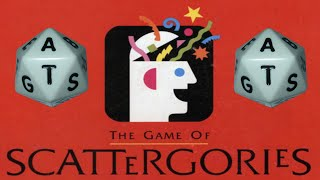 """Scattergories Online! - """"It's a biased game!!"""""""