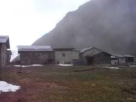 Val di Rezzalo - nebbia