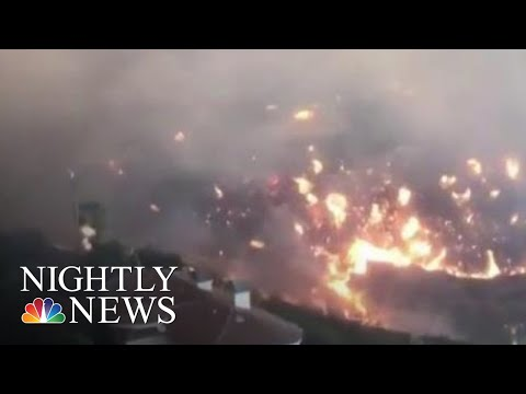 Record-Breaking Wildfires Ravaging California | NBC Nightly News