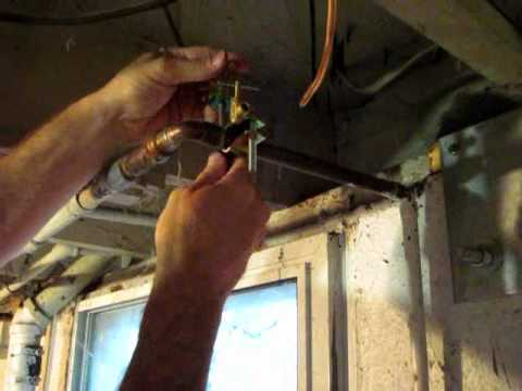 How to Hook Up a Water Line to Your Refrigerator - Part 3: The Saddle Valve