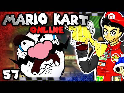 RAGE EVERYWHERE! (Mario Kart 8 Online: The Derp Crew - Part 57)