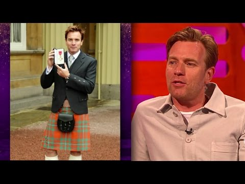 Ewan McGregor's OBE (Wan Kenobi) - The Graham Norton Show