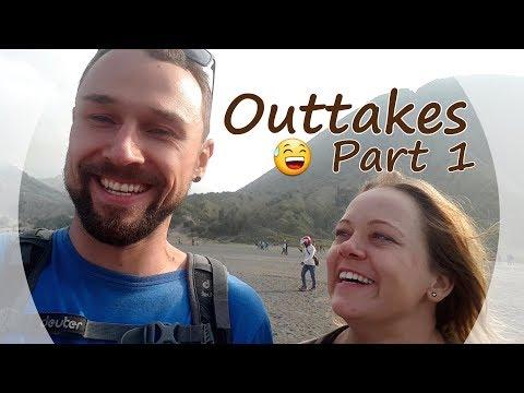 WITZIGE OUTTAKES auf REISEN [subtitled] - Versuche NICHT zu lachen oder grinsen