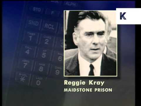 March 1995, Reggie Kray Telephone Interview, Archive Footage