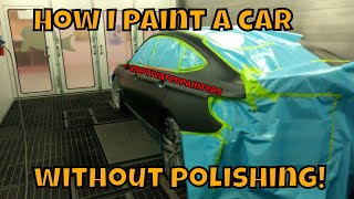 How to get a clean paintjob without polish!