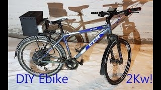 DIY Cheap Ebike 1500W Part 1