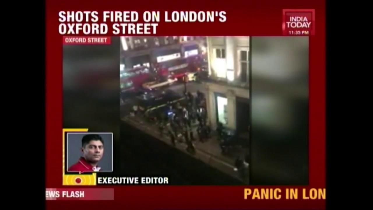 London's Oxford Street Shooting Triggers Police's Terrorism Response