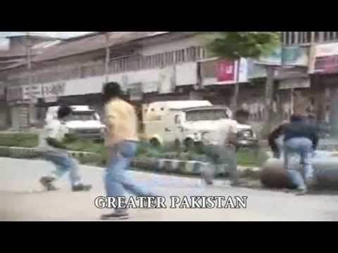 Kashmir youth battles against Indian army