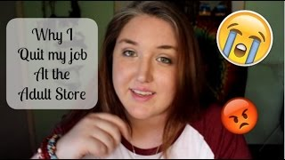 Quitting my job at the Adult Store | Story Time