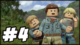LEGO Jurassic World - PART 4 - WOW! (Gameplay Walkthrough HD)