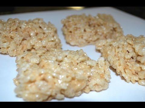How To Make Rice Krispies Treats Youtube
