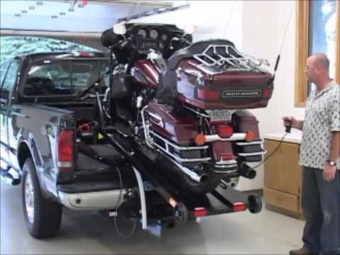 Motorcycle Lift And Loader Youtube