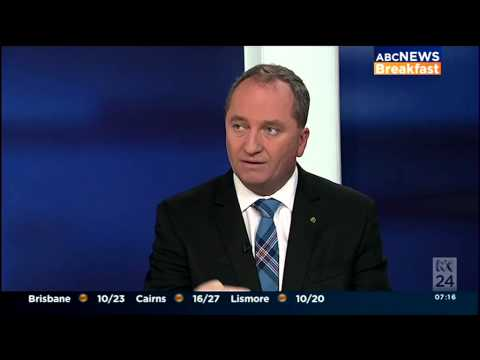 140819 Barnaby on ABC News Breakfast