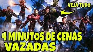NOVAS CENAS VAZADAS DE VINGADORES ULTIMATO (COM SPOILER)