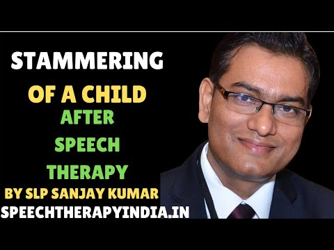 0 Stammering in children after treatment, by SLP Sanjay Speech Hearing and Rehab. Center in Bangalore