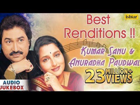 Best of Bollywood Kumar Sanu & Anuradha Paudwal Songs  Evergreen Hindi Songs