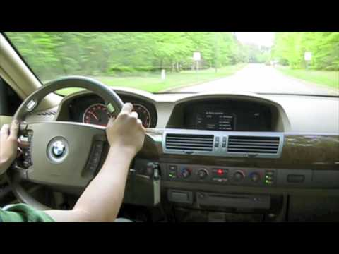 Test Drive The 2002 Bmw 745li Acceleration Highway And
