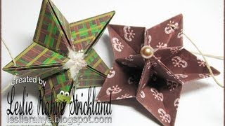 Bonus Tutorial | Origami Star Ornaments