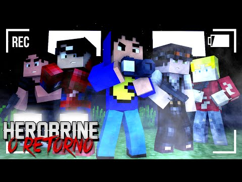 Minecraft: HEROBRINE - O RETORNO - IRMÃO #1