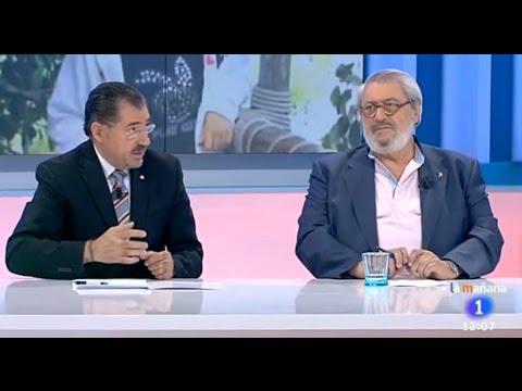 TVE. La mañana de la 1. Crónica negra. Crimen niña Asunta Basterra Porto. Santiago de Compostela.