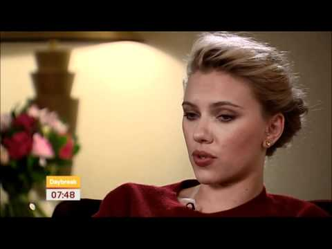 Marvel's The Avengers - Scarlett Johansson Interview With Daybreak