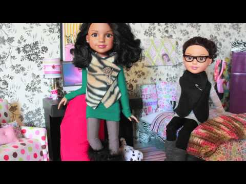 How to Make Easy Doll Fashion : No Sew Vest