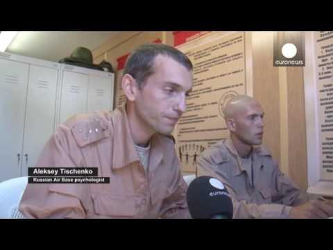 Siria: la base russa vicino a Latakia, vista dall'interno