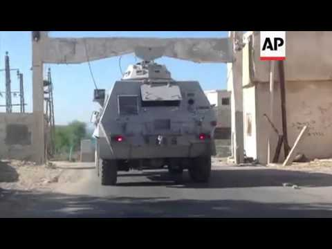 Sinai on alert after militant attack kills 25 police officers