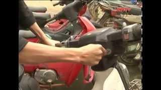 Siêu trộm phá khóa hơn 100 xe máy