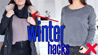 7 WINTER LIFE HACKS YOU MUST KNOW !!