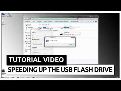 How to speed up your USB Flash Drive