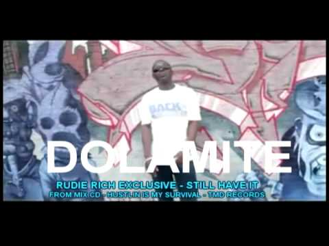 DOLOMITE   HUSTLIN IS MY SURVIVAL CD VIDEO ADVERT