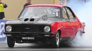 TOM30B SHANES RACE ENGINES STEEL CITY FABRICATIONS TORANA 7.24 @ 199 MPH 27.11.2014