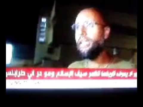 Libya: 23 August 2011, Saif al-Islam Gaddafi - alive, free and angry!