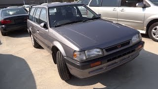 ✈MAZDA FAMILIA WAGON  BF (MAZDA A323) Junkyard car マツダ ファミリア BF型 ワゴン