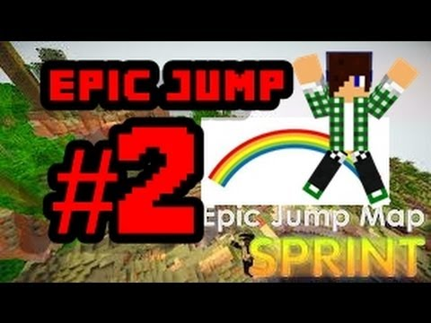Minecraft mapa parkour Epic Jump#2 Arco Íres QUE GAY!!!!!!!!!