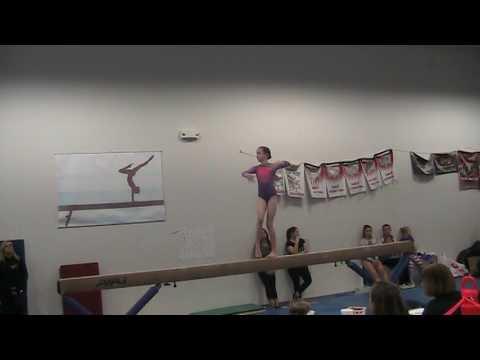 Kira Gymnastics - Level 6 Beam - Living the Dream