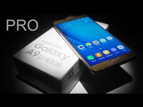 Samsung Galaxy A9 Pro - Unboxing & Hands On!