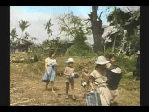 WWII PHILLIPINES 3 OF 3 RARE COLOR FILM Music Videos
