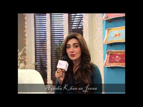 Ayesha Khan Telling about her role in Mann Mayal
