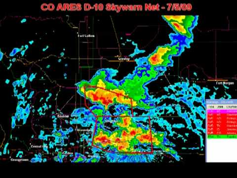 Colorado ARES District 10 Skywarn net