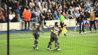 Champions League: Manchester City - Napoli (1-1) - 14/09/2011