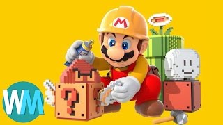 Top 10 Things You Didn?t Know You Could do in Mario Maker