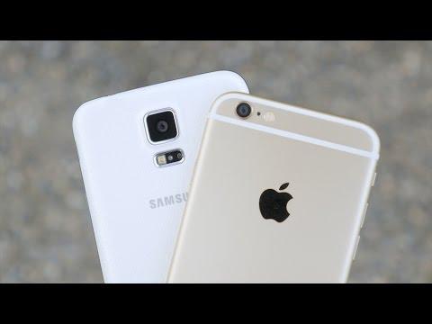 Apple iPhone 6 vs Samsung Galaxy S5 - Camera Comparison