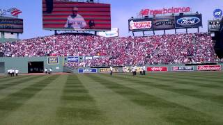 Fenway Park 100th Anniversary Video by Mike Stenhouse from the field