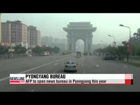AFP to open news bureau in Pyongyang