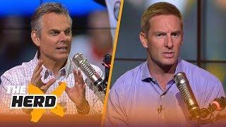 Joel Klatt questions Oklahoma's conservative play calls in key parts of the Rose Bowl   THE HERD
